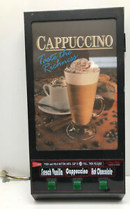 Cecilware Gb3k Superior Cappuccino Machine 3 Head Door Panel Used As Is