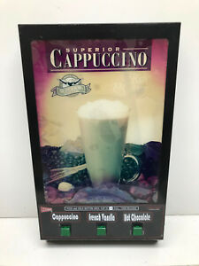 Cecilware Gb4 Superior Cappuccino Machine 4 Head Door Panel Used As Is