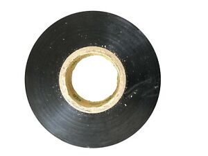 Bybon Vinyl Electrical Tape Black 3 4 In X 60 Ft Ul listed 2 roll