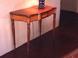 Federal Card Table Portsmouth New Hampshire C 1810
