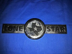 2007 2010 Dodge Ram 1500 2500 3500 Lone Star Edition Emblem Decal Mopar Oem New