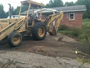 Ford 555a Backhoe Used Ford Backhoe Farm Industrial Heavy Equipment