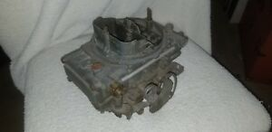 Vintage Rare 1970 Holley 4224s Carburetor 085 Code Tunnel Ram Dual