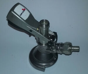 Micromatic German Slider Keg Coupler A System Used
