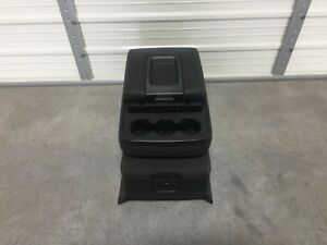 2014 2018 Chevrolet Tahoe Yukon Suburban Silverado Ebony Cloth Center Jump Seat
