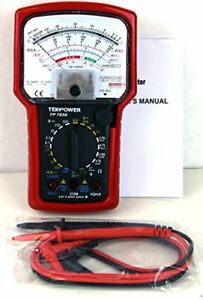 Multimeter Analog High Accuracy Battery Capacity Tester Ac Dc Volt Amp Ohm Meter