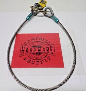 Ppe Lynard Fall Protection Harness 48 In 3m Dbi sala 5900550 Stainless Steel