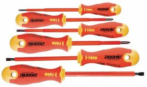 Bondhus Assorted Insulated Screwdriver Set Multicomponent Number Of Pieces 6
