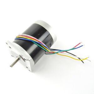 12v 0 68a 125oz in Unipolar Stepper Motor double Shaft Nema 23