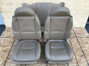 Lexus 2007 Sc430 Leather Power Seats Set Front And Rear Complete 123k Oem