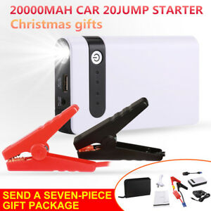 20000mah Car 20jump Starter 12v Battery Charger Booster Power Bank Rescue Pack