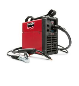 New Century Wire Feed Welder And Gun 90 Amp Fc90 Flux Core 120v