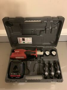 Ridgid 57373 Rp 241 Compact Press Tool Kit With 1 2 1 Propress Jaws Rigid