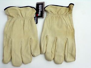 New West Chester Thinsulate Lined Pigskin Leather Driver Gloves Xxl free Ship