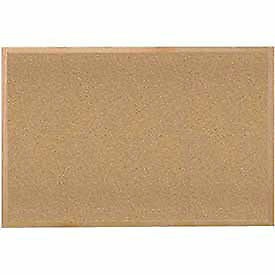 Cork Bulletin Board Hardwood Oak 36 w X 24 h Lot Of 1