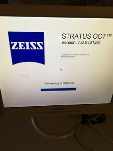 Zeiss Stratus Oct With 7 0 Stratus Software W Warranty
