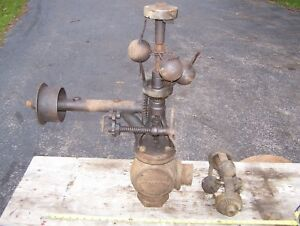 Old Pickering 2 1 2 Steam Governor Tractor Portable Hit Miss Gas Engine Magneto