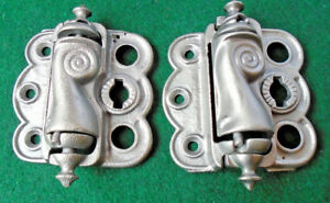 Vintage Screen Door Hinge Set Circa 1890 Wonderful Condition 10666