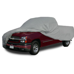 Fit Chevy Waterproof Indoor Outdoor Soft Cotton Inlay Pickup Truck Car Cover