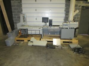 Opex Model 72 Rapid Extraction Desk Mail Opener W As7200i Mail Document Scanner