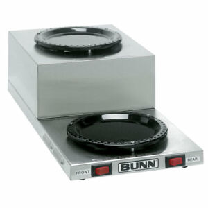 Bunn Wl2 Warmer 2 Position Step up Coffee Warmer For Decanter Servers