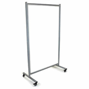 Luxor Mobile Double Sided Whiteboard 39 w X 64 h Lot Of 1