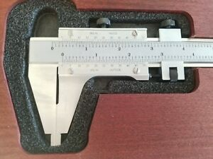 Starrett No 123z 12 Vernier Calipers