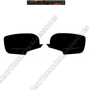 Fit 2008 2009 2010 2011 2012 Honda Accord Black Gloss Color Full Mirror Covers