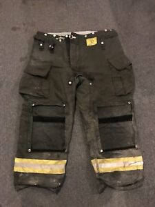 Morning Pride Gear Bunker Pants Turnout Pants Fdny Style Size 42x30
