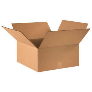 15 x15 x7 Corrugated Boxes 25 Pack Lot Of 25