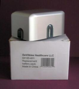 Devilbiss Portable Nebulizer Replacement Battery Pack No 6910d 601 New