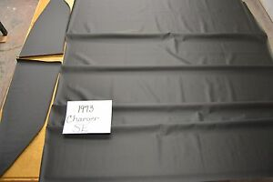 1973 73 Dodge Charger Se Black Headliner 4 Bow Usa Made Top Quality
