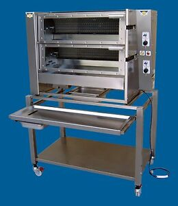 Gas Chicken Rotisserie radiant 2000 Manufacturer Refurbished Australian Made