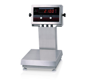 Rice Lake Iq Plus 2100 Checkweigher Bench Scale W 12 Column 10x10 5 Lb Ntep