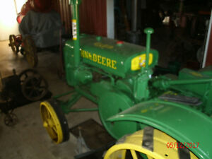 1934 John Deere Gp Antique Tractor Pto Lugs Front Guide Bands S n 229819