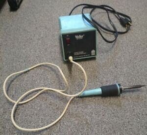 Weller Wtcps Soldering Station With weller Tc201p Soldering Pencil used