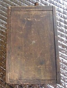 Vintage Ford Model T Wood Ductailed Coil Ignition Box