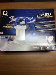 Graco Tc Pro Corded Airless Paint Sprayer 17n163 Free Shipping New