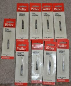 Weller Ptdd7 700 Single Flat Tip Solder Soldering Iron Lot Of 9 New