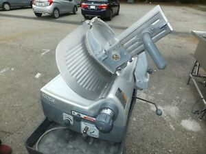 Hobart 2912 Automatic Meat Cheese Deli Slicer 2912 Works But Need Parts