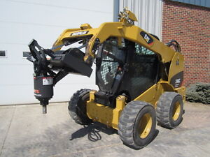 Mcmillen Skid Steer Loader X1975 Auger Drive Unit Attachment 15 30 Gpm