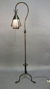 Antique Story Book Tudor Arts And Crafts Spanish Revival Floor Lamp 11430
