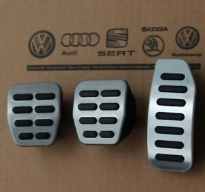 Skoda Fabia 6y Rs Pedal Pads Caps Covers For Manual Cars 99 08