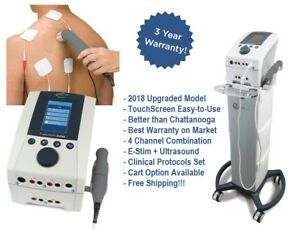 Intensity Cx4 Combo 4 Channel e stim Ultrasound Upgrade From Chattanooga