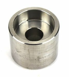 Meirt Brass Reducer Coupling 2 X 1 Socket Weld 304 Stainless Sw3412d 3216