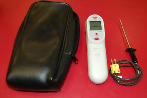 Cooper 413 Ir Thermometer With Probe And Case Free Shipping