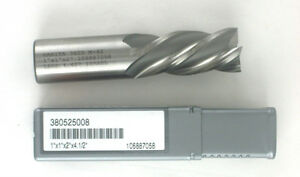 Hanita Cobalt Square End Mill 1 4fl 120525008