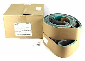 3m 577f Abrasive Belt 4 X 118 Grade 80 Film lok Usa Case Of 25 51111 69572