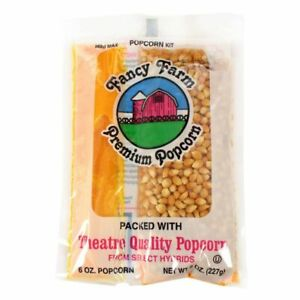 Commodity Popcorn Popcorn Cash Carry Tray Pack 8oz 15count pack Of 8
