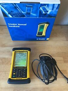 Trimble Tds Nomad Data Collector Bluetooth Pocket Pc With Barcode Scanner